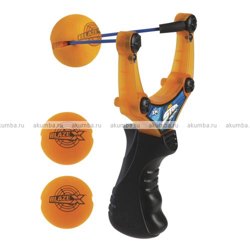 Zing Shot Air Storm рогатка с мячиками, дальность до 15 метров