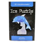 3D головоломка Ice puzzle Дельфин голубой