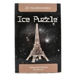 3D головоломка Ice puzzle Эйфелева Башня XXL серая