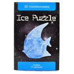 3D головоломка Ice puzzle Рыбка XXL голубая и розовая