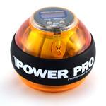 Кистевой тренажер Power Pro жёлтый (счётчик, светодиоды)