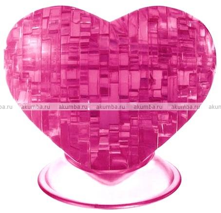 3D Кристалл Пазл Сердце