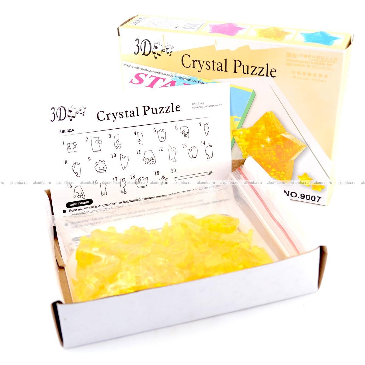 инструкция по собиранию кристалл пазл