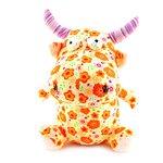 Мягкая игрушка Корова с оранжевыми цветами