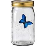 Бабочка в банке, летающая
