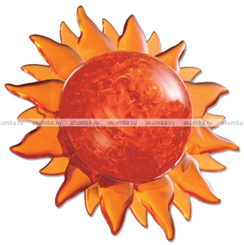 3D Кристалл Пазл Солнце (с подсветкой)
