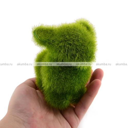 Фигурка из искусственный травы Зайка