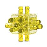 Головоломка Log Puzzle желтая