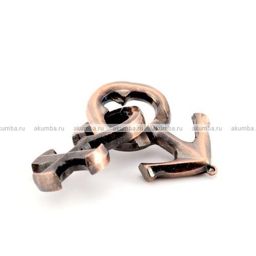 Металлическая головоломка Steel Puzzle Марс и Венера