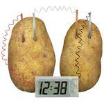 Картофельные часы. Potato clock