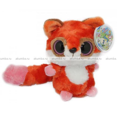 Красная лисичка Раби 13 см