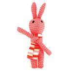 """Мягкая игрушка """"Красный заяц"""""""