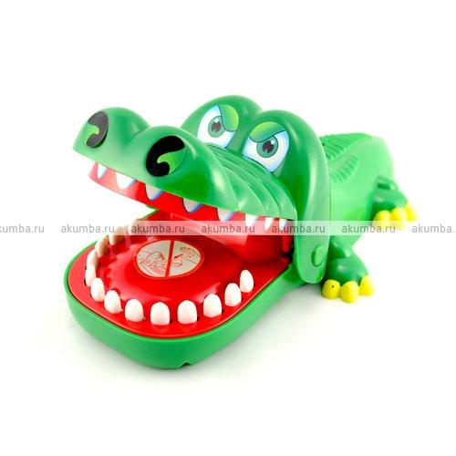 Игрушка - кусающийся крокодил