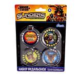 Slingers: набор 8 медальонов в блистере